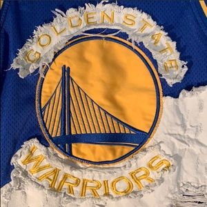 Golden State Warriors NBA Heritage Unk Jersey XL